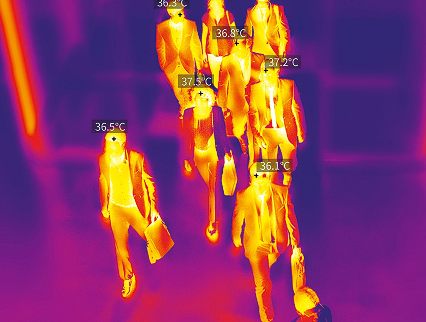 Программно-аппаратный комплекс автоматической диагностики температуры тела и персонификации «Барьер 2.0»